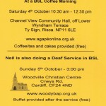 Deaf Service Oct 4th