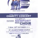 Street pastors charity concert