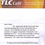 TLC cafe thanks