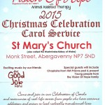 Vision of Hope letter christmas 2015 poster