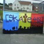 Skate ramp in Ty-Sign after 418